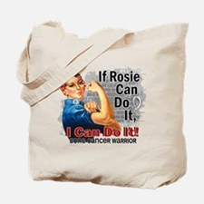If Rosie Can Do It Bone Cancer Tote Bag