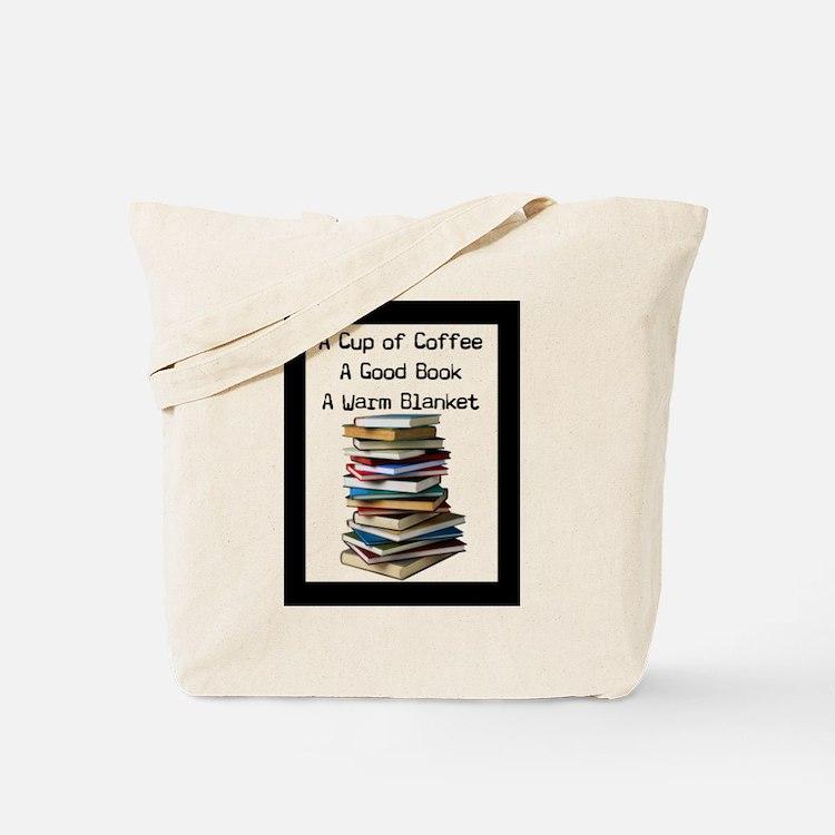 Book Lovers Blanket 3 Tote Bag