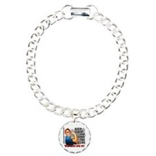Rosie Keep Calm Bone Cancer Bracelet