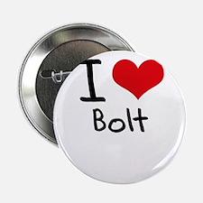 "I Love Bolt 2.25"" Button"