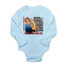 Rosie Keep Calm Mesothelioma Long Sleeve Infant Bo