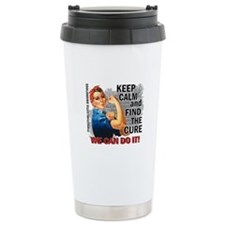 Rosie Keep Calm Mesothelioma Ceramic Travel Mug