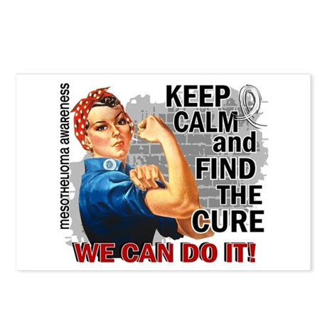 Rosie Keep Calm Mesothelioma Postcards (Package of