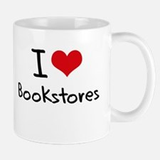 I Love Bookstores Mug
