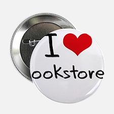 """I Love Bookstores 2.25"""" Button"""