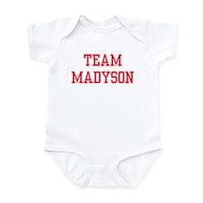 TEAM MADYSON  Infant Creeper