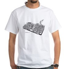 Chapperal J Ghost Rendering T-Shirt