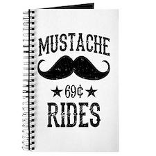 Mustache Rides Black Journal
