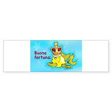 buona fortuna Bumper Bumper Sticker