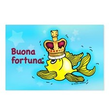 buona fortuna Postcards (Package of 8)