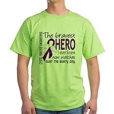 Bravest Hero I Knew Cystic Fibrosis T-Shirt