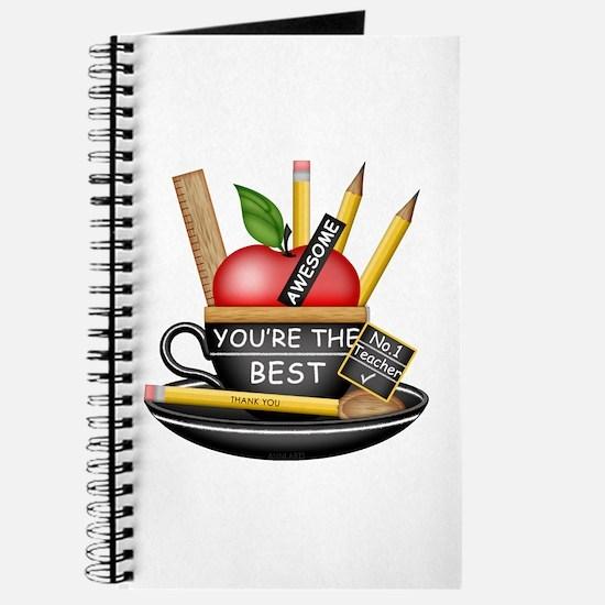 Teachers Apple Teacup Journal