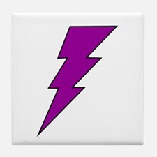 The Lightning Bolt 9 Shop Tile Coaster