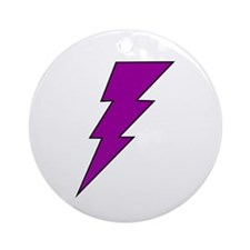 The Lightning Bolt 9 Shop Ornament (Round)