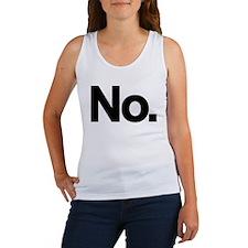 No. Women's Tank Top