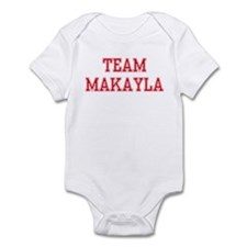 TEAM MAKAYLA  Infant Creeper