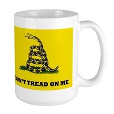 Dont Tread on Me Flag Mug
