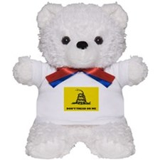 Dont Tread on Me Flag Teddy Bear
