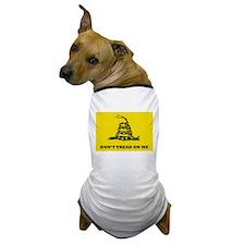 Dont Tread on Me Flag Dog T-Shirt