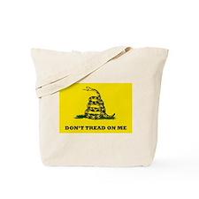 Dont Tread on Me Flag Tote Bag