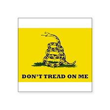 Dont Tread on Me Flag Sticker