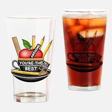 Teachers Apple Teacup Drinking Glass