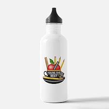 Teachers Apple Teacup Water Bottle