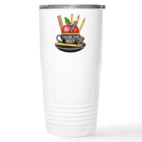 Teachers Apple Teacup Travel Mug