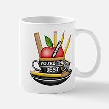Teachers Apple Teacup Mug