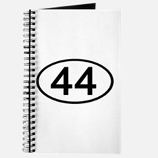 Number 44 Oval Journal