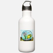 WE have MOVED military Water Bottle