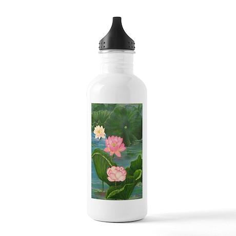 Lotus Pond Water Bottle