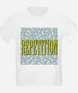 Repetition Kids T-Shirt