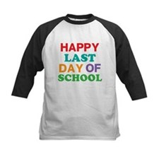 Happy Last Day of School Baseball Jersey