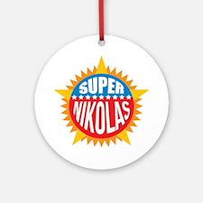 Super Nikolas Ornament (Round)