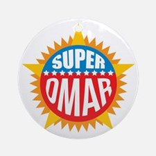 Super Omar Ornament (Round)