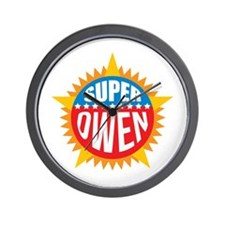 Super Owen Wall Clock