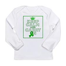 TBI Keep Calm Carry On Long Sleeve Infant T-Shirt