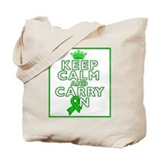 TBI Keep Calm Carry On Tote Bag