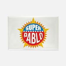 Super Pablo Rectangle Magnet