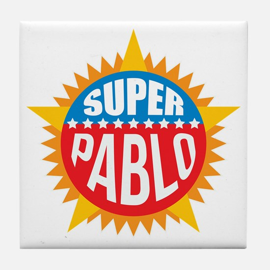 Super Pablo Tile Coaster