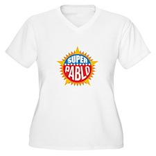 Super Pablo Plus Size T-Shirt