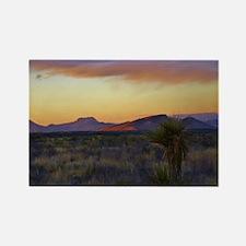 a desert evening Rectangle Magnet