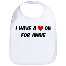 Heart on for Angie Bib
