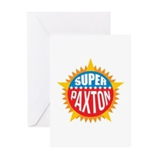 Super Paxton Greeting Card