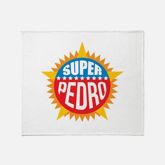 Super Pedro Throw Blanket