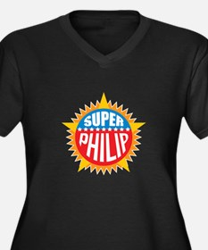 Super Philip Plus Size T-Shirt