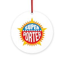 Super Porter Ornament (Round)