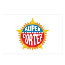 Super Porter Postcards (Package of 8)