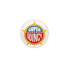 Super Quincy Mini Button